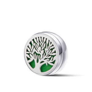 12mm Stainless Steel Aromatherapy Essential Oil Diffuser Button Clip