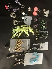 15 PAIRS EARRINGS WHOLESALE JOBLOT bankruptcy stock to be clear 1C1