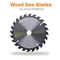 135-305mm 40T Lame de scie circulaire carbure tête coupe disque pour bois Bore