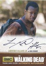 Walking Dead Season 4 Part 2 Lawrence Gilliard Jr. LG1 Autograph Auto Card