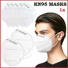 KN95 Face Mask Surgical Disposable Mouth Guard Cover Face Masks Filter Respir UK
