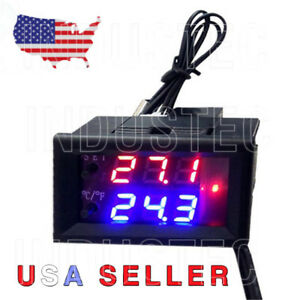 Digital LED Microcomputer Thermostat - Controller Switch Temperature Sensor 12V