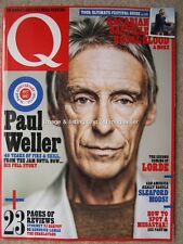 Q July 2017 Paul Weller Sleaford Mods Beth Ditto Will Oldham Perfume Genius