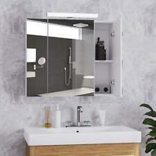 LED Spiegelschrank Badezimmerschrank Badspiegel mit beleuchtung 70 x 60 x 15 cm