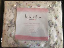 Nicole Miller Pink Unicorn White Cotton Twin Sheet Set