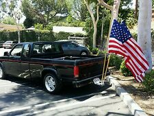 "Dual Flag poles ,and 2"" receiver mount COMBO."
