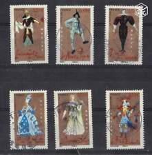 Année 2006 Série Les opéras de Mozart - n°3918 à 3922  oblitérés