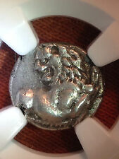 Thracian Chersonesus 4th Century BC AR Hemidrachm obv forepart of lion NGC Ch XF