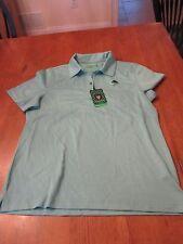 Womens Oxford Super Dry Golf Shirt, NWT, L