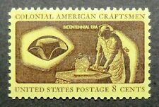 1459 MNH 1972 8c Hat Maker Colonial Craftsmen hats tricorne tricorn craft skill