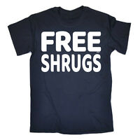 Funny T Shirt - Free Shrugs - Birthday Joke tee Gift Novelty tshirt T-SHIRT