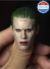 CUSTOM 1/6 scale Joker Head Sculpt Jared Leto Suicide Squad Batman for Hot Toys
