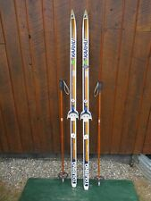 """Great Ready to Use Cross Country 65"""" Karhu 165 cm Skis + Poles 000006Be"""