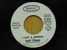 Bob Luman DJ 45 I Got A Woman stereo bw mono - Epic VG+