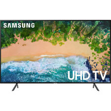 "Samsung UN65NU7100 65"" Charcoal Black UHD 4K HDR LED Smart HDTV - UN65NU7100FXZA"