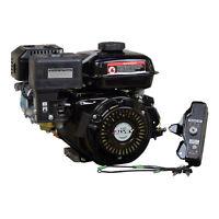 Electric Start 196cc 6.5 Hp 168F Honda GX200 Clone Go-Kart & Mini Bike Engine
