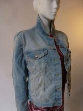 Zara Button Denim Coats & Jackets for Women