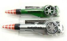 RadioShack Green and Silver Vintage Mini Remote Control Car Pen Collectible