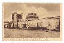 paris 1925 ,exposition internationale des arts décoratifs ,pavillon de lyon