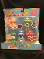 Care Bears Miniature Lot of 5 Friend Grumpy Good Luck Wish Love A Lot 2003 NIB