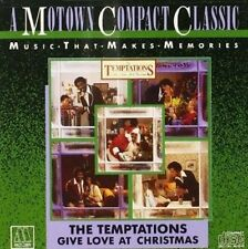 THE TEMPTATIONS Give Love At Christmas CD BRAND NEW