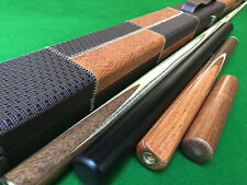 """3/4 Handmade ASH 57"""" Snooker Cue  / Pool Cue 8.5mm tip"""