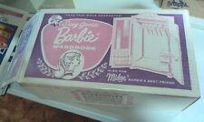 BARBIE SUSY GOOSE PINK DOOR WARDROBE WITH ORIGINAL BOX - VERY NICE !