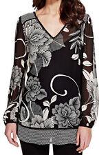 Per Una Women's Other V Neck Hip Length Tops & Shirts
