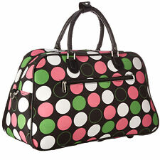 3c34760c0a World Traveler 21-inch Carry-on Shoulder Tote Duffel Bag Multi Dot One Size