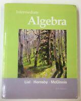 Intermediate Algebra by Margaret L Lial incl. Student Access Kit - LIKE NEW!