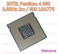 Intel Pentium 4 P4 660 MHz 3.6 GHz 2m 800 FSB LGA 775 CPU SL7Z5 SL8PZ Processor