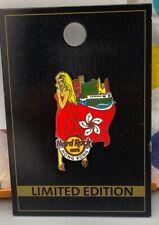 Hard Rock Cafe Hong Kong Landmark Flag Girl The Peak Blonde LE100 RARE NOC