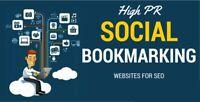 100 Social bookmars Bookmarking ranking website seo google do follow backlink