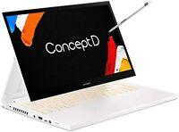 NEW Acer ConceptD 3 Ezel CC314-72G-72SX Convertible Creator Laptop 16GB 512GB i7