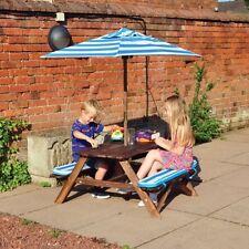 Kingfisher Picnic Wood Garden & Patio Benches