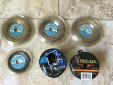 Sevalon Fishing Wire & Eagle Claw/South Bend Fishing Line (6 spool lot)