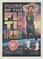 2018-19 Panini Hoops FACES OF THE FUTURE #5 TRAE YOUNG RC Rookie Atlanta Hawks