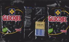 THREE x 150gm Glucogel BLACK JELLY BEANS - Sealed- FREE FAST P&H Australia