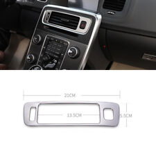 Stainless Steel Console Air Conditioning Vent Decoration Trim For Volvo V60 S60