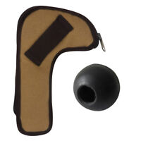 Tourbon Tactical Hunting Rifle Bolt Holder Canvas Pouch/Mounted Bolt Knob Rubber
