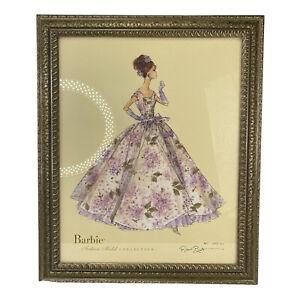 2007 Barbie Violette Ltd. Fashion Model Collection Robert Best Art Framed w/ COA