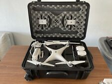 DJI Phantom 4 with Case, 2 Batteries, Charger, Controller, Extra PropellerS