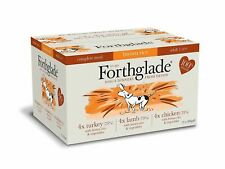 Forthglade Complete Adult Multicase and Brown Rice 12x395g Wet Dog Food Natural