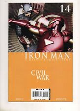 Iron Man #14 CIVIL WAR 2007 CAPTAIN AMERICA vs IRON MAN BATTLE Cov/Story NM 9.4