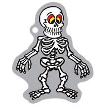 Spooky Travel Tag ® Skelett Travelbug traveltag Geocaching trackable Helloween