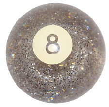 8 Ball Clear Glitter shift knob manual M12x1.25 thrd