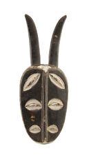 Masque Africain Kwelé à 6 Yeux Gabon Art Tribal Premier Primitif d' Afrique  928