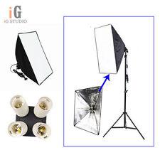 Photo Studio kit Lighting Softbox 50*70cm/+ 4in1 E27 Socket Lamp Head European