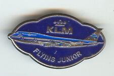 KLM Airlines Boeing 747 LOGO Badge Flying Junior
