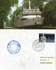 GERMAN PASSENGER SHIP MV CITANIA SHIPS CACHED COVER & MAGAZINE PHOTO